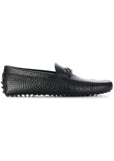 Tod's Grommino textured driving loafers