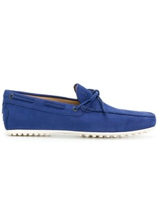 Tod's lace boat shoes