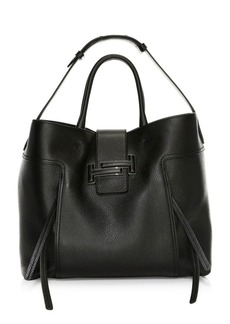 Tod's Large Dot Leather Shopper Tote