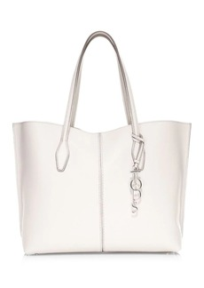 Tod's Large Joy Hammered Leather Tote