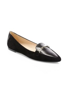 Tod's Leather Ballet Loafers