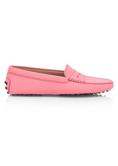 Tod's Leather Driver Loafers