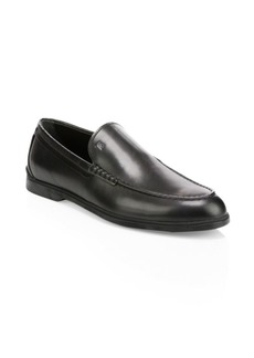 Tod's Leather Pantofo Loafers