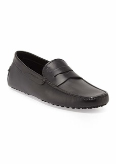 Tod's Leather Penny Driver  Black
