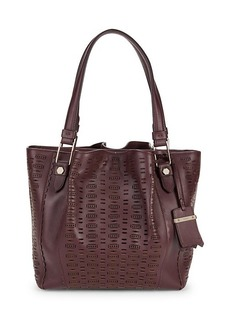 Tod's Leather Zip Tote
