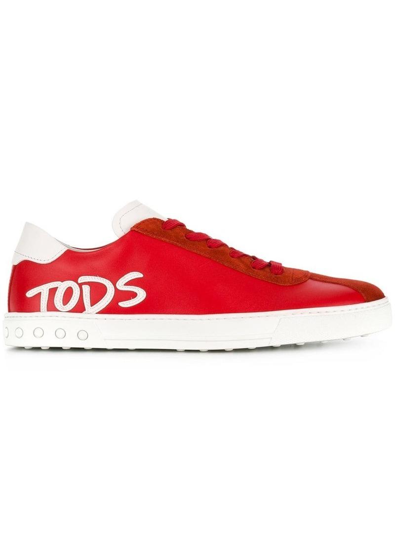 Tod's logo detail sneakers