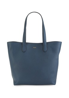 Tod's Logo Leather Tote