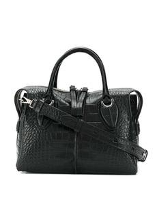 Tod's Medium Bauletto croc bag