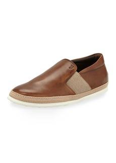 Tod's Men's 0-TV Espadrille Slip-On Sneakers