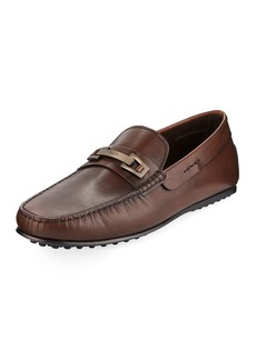 Tod's Men's Horsebit Leather Drivers