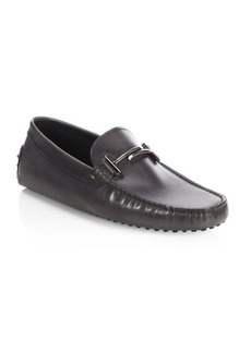 Tod's Men's Leather City Gommini Drivers