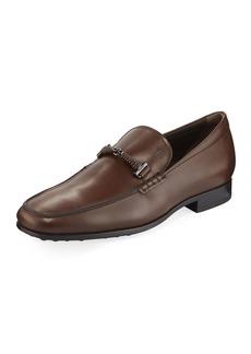 Tod's Men's Leather Horsebit Dress Shoes