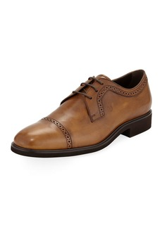 Tod's Men's Leather Lace-up Oxfords