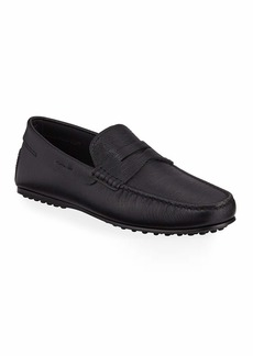 Tod's Men's Mocassino City Gommini Leather Penny Drivers
