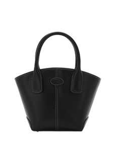 Tod's Micro D-bag New Leather Shopping Bag
