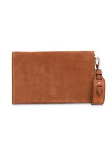 Tod's Mini Suede Selleria Bag