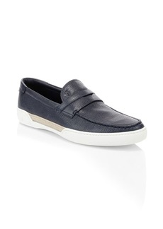 Tod's Mocassino Leather Boat Shoes