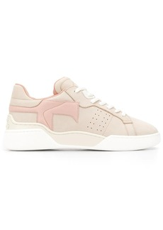 Tod's monogrammed lace-up sneakers