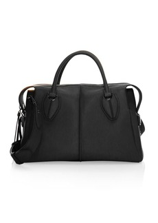 Tod's New Double Top Handle Saddle Bag