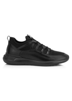 Tod's No Code Sportivo Leather & Neoprene Sneakers