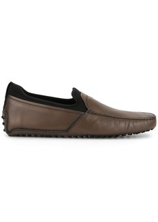 Tod's panelled driving loafers