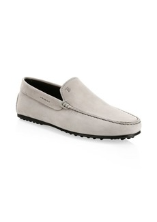 Tod's Pantofola City Suede Driving Loafers
