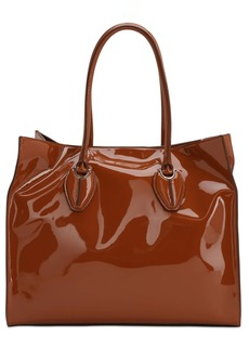 Tod's Patent Leather Tote Bag