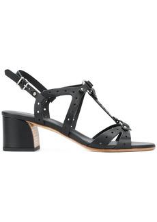 Tod's perforated block-heel sandals