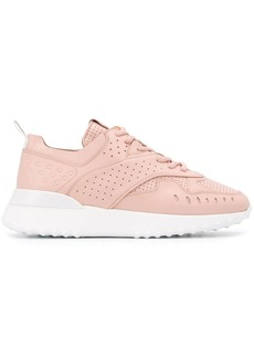 Tod's perforated detail low top sneakers