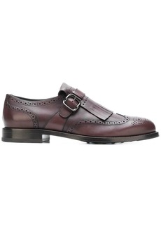 Tod's perforated monk shoes