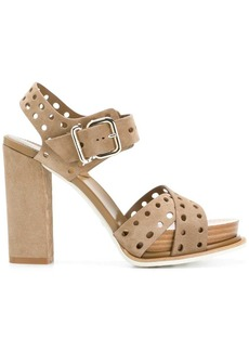 Tod's perforated sandals