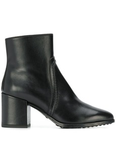 Tod's piped zip-up boots