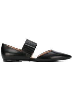 Tod's pointed ballerina shoes