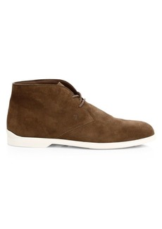 Tod's Polacco Chukka Suede Boots