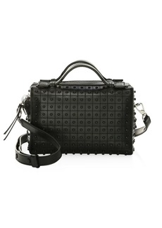Tod's Medium Diodon Leather Box Bag