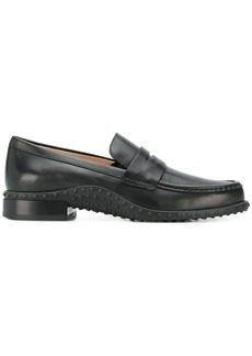 Tod's ridged panel loafers