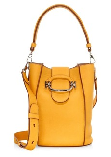 Tod's Ring Leather Bucket Bag
