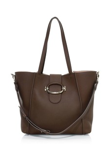 Tod's Ring Leather Shopping Bag