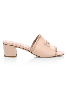 Tod's Selleria Leather Mules