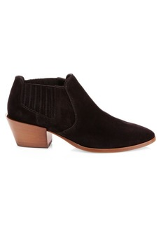 Tod's Short Suede Ankle Boots