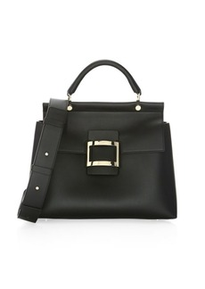 Roger Vivier Small Leather Satchel