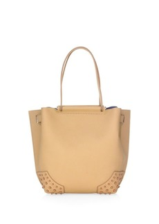 Tod's Small Wave Leather Tote