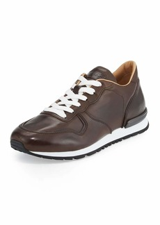 Tod's Men's Smooth Leather Trainer Sneakers