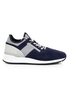 Tod's Sportivo Suede & Neoprene Sneakers