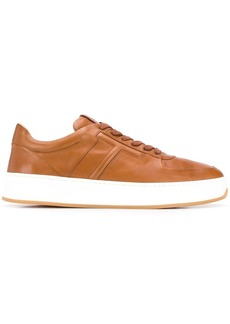 Tod's stitched T lace-up sneakers