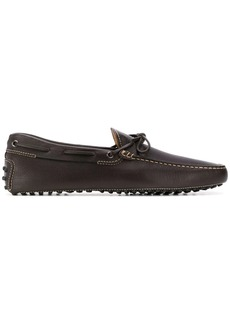 Tod's stitching detail flat loafers