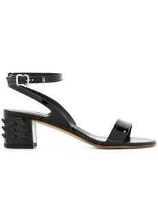 Tod's stud detail block-heel sandals
