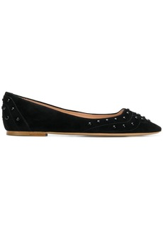 Tod's studded ballerina shoes