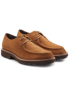 Tod's Suede Lace-Up Shoes