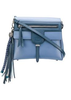 Tod's tassel flap shoulder bag